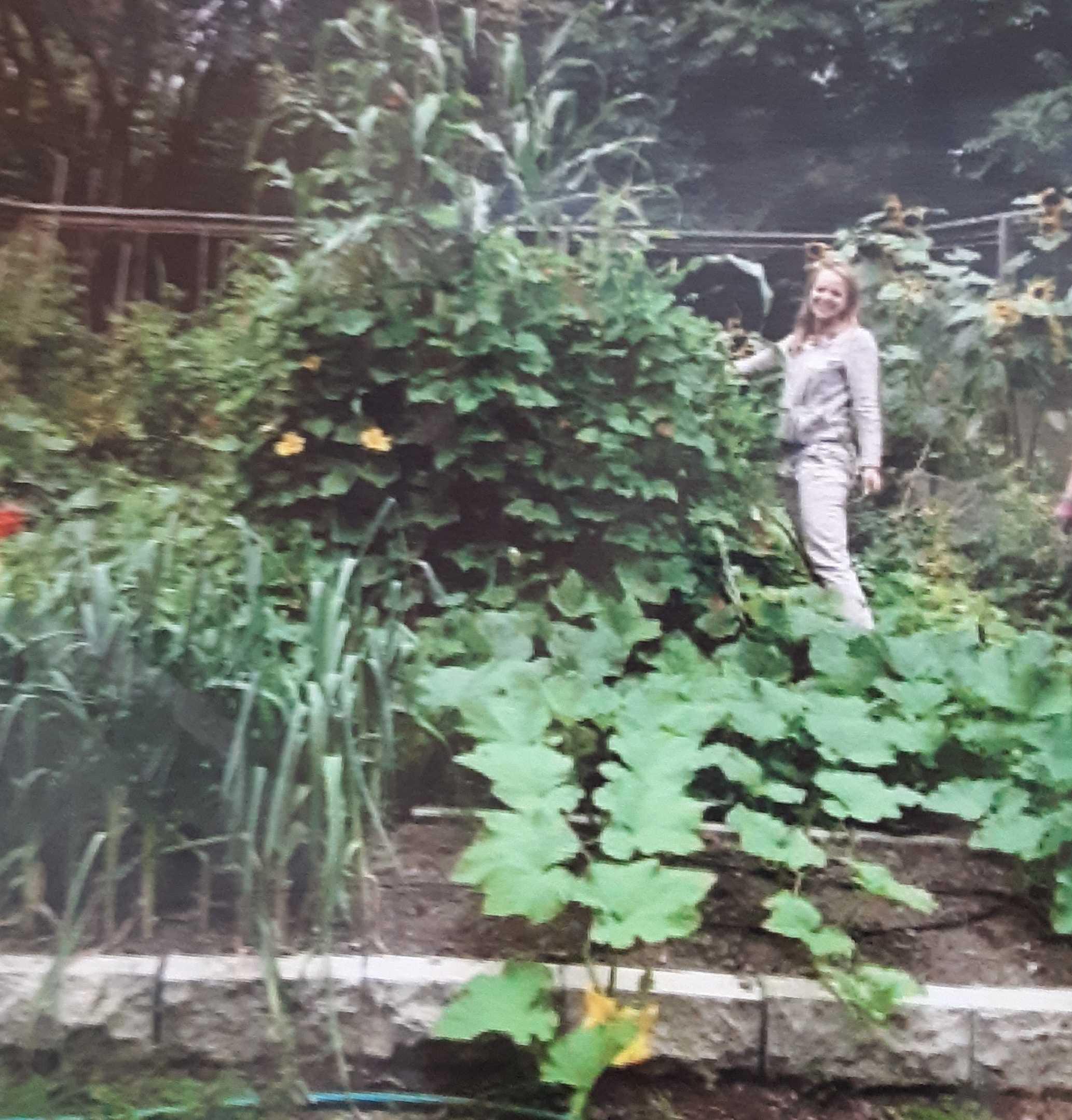 Garden with Emilie