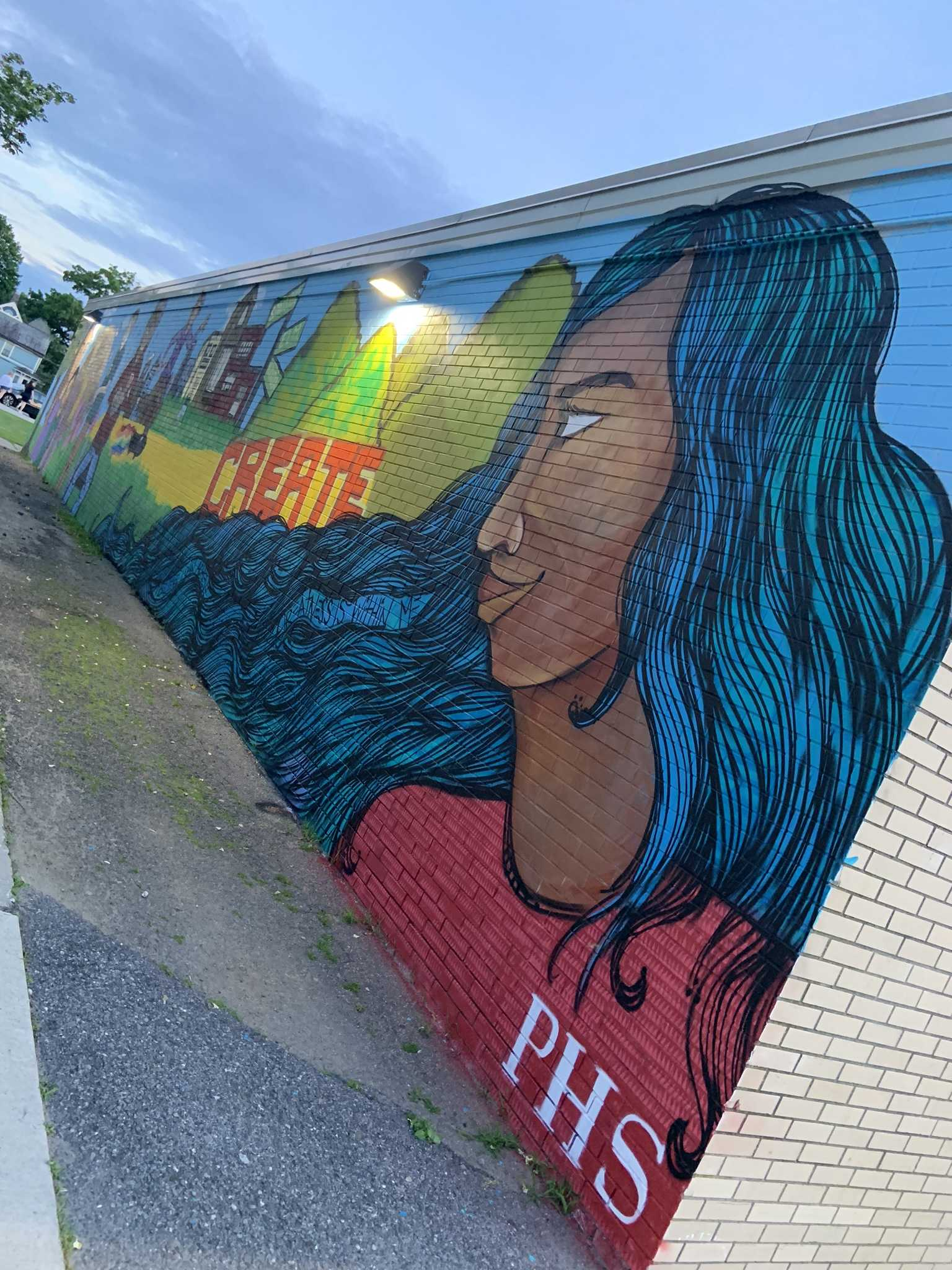 Mural - far right