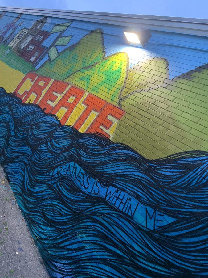 Mural+on+high+school+wall+reflects+students+view+of+their+Peekskill