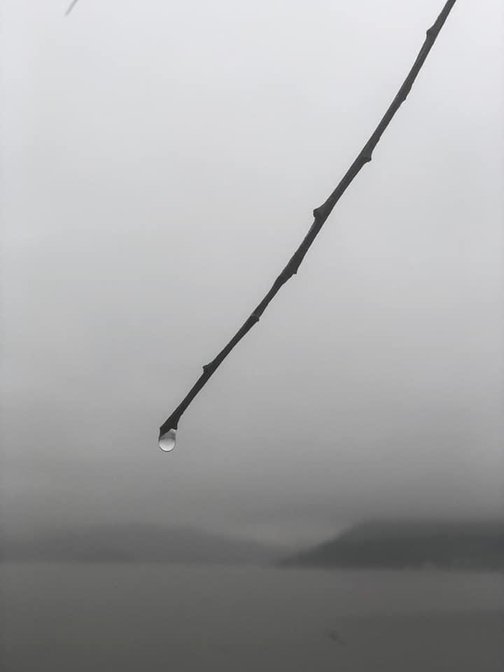 Ocean water drop