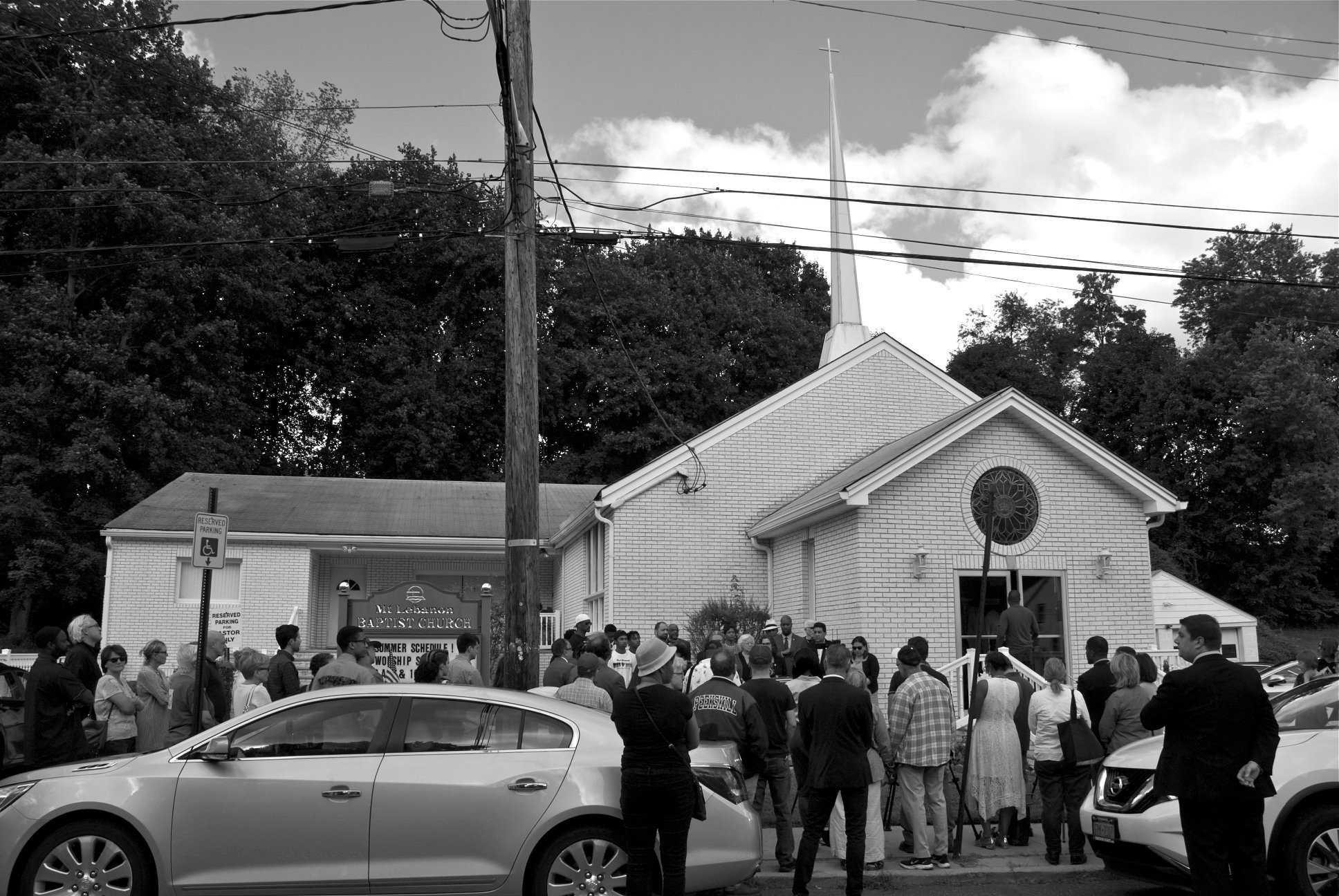 POST - church scene
