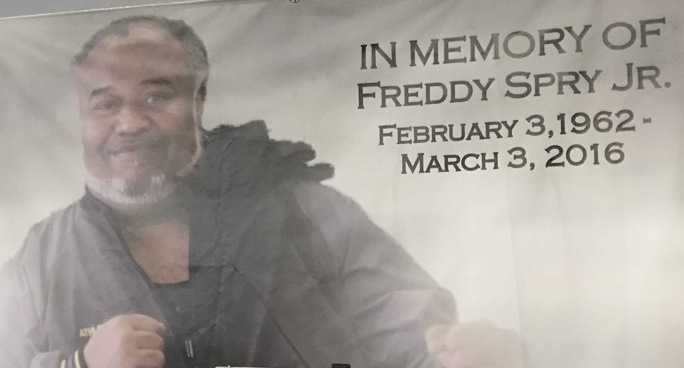 Be First Freddy Spry poster