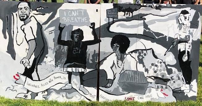 Rally mural