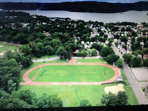 Football field at Torpy getting turf, former practice field of NY Jets