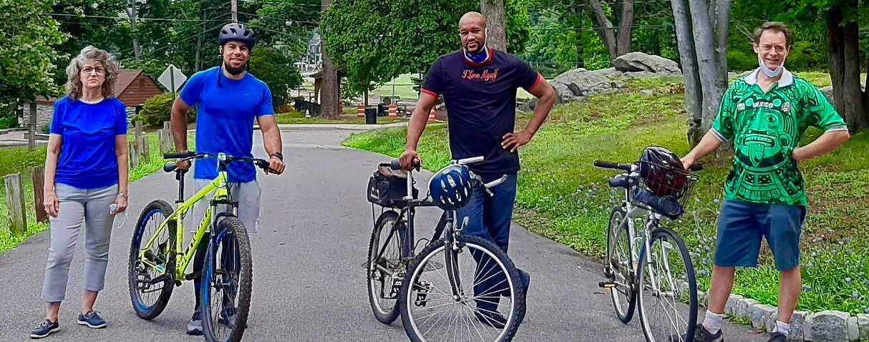 Biking in Depew