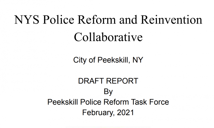 Peekskill Police Reform Task Force Releases Draft Recommendations