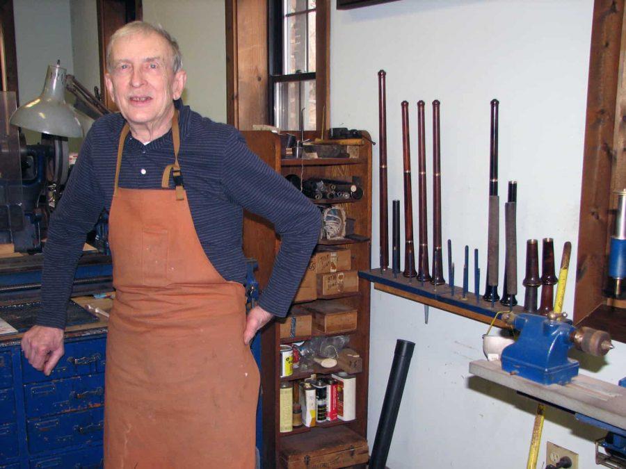 Paul+Laubin%2C+Oboe+Maker%2C+Dies+in+Studio